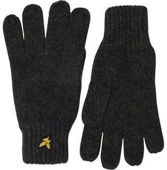 Vintage Mens Mouline Gloves Woodland Green