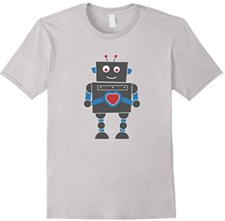 DAY Birger et Mikkelsen Valentine's Gift for Men Women & Kids Robot Love T-Shirt
