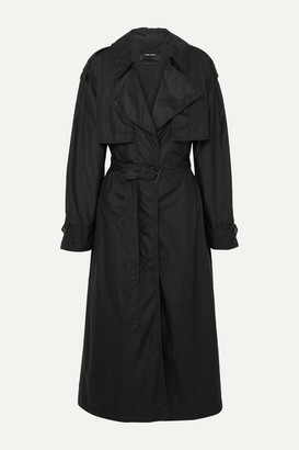 Isabel Marant Clem Shell Trench Coat - Black