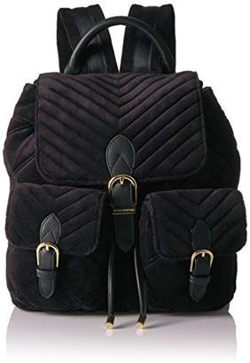 Juicy Couture Fairmont Fairytale Velour Buckle Backpack
