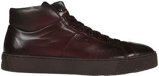 Santoni Classic Hi-top Sneakers