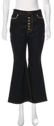 Ellery Embellished High-Rise Jeans w/ Tags