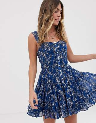 Free People ditsy floral dress