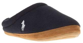 Polo Ralph Lauren New Mens Blue Jacque Scuff Textile Slippers Slip On