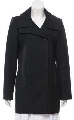 Barbara Bui Wool Short Coat