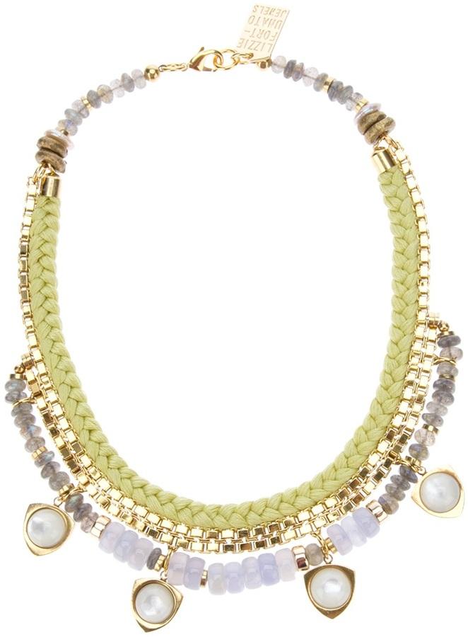 Lizzie Fortunato 'Sun-Prairie' necklace