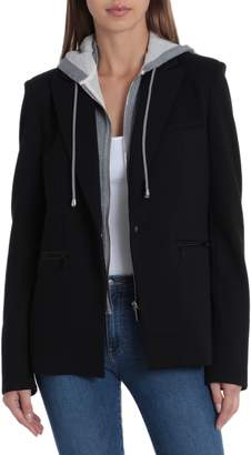 Bagatelle Blazer with Detachable French Terry Hood