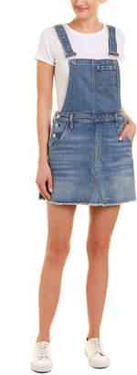 7 For All Mankind Seven 7 Mini Skirt Blue Overall