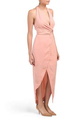 Juniors Australian Designed Halter Dress