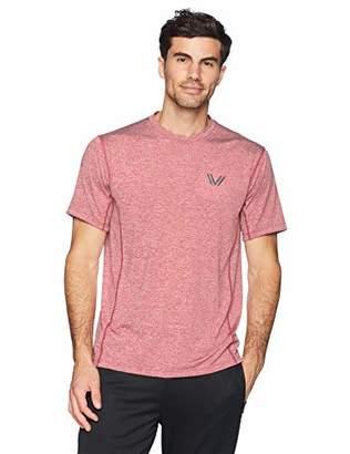 Peak Velocity Men's Tech-Stretch Short Sleeve Quick-dry Loose-Fit T-Shirt