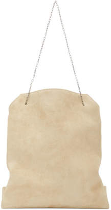 The Row Tan Small Lunch Bag
