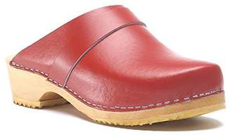 World of Clogs.com Toffeln Classic klog 310 Classic Traditional Wooden Clogs - 6