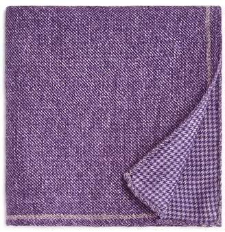 Bloomingdale's The Men's Store at Solid Bordered Wool Pocket Square - 100% Exclusive
