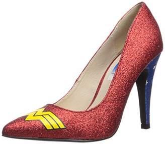 The Highest Heel Women's Classic Wonder Woman Pump Shoe