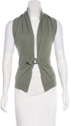 Brunello Cucinelli Draped Knit Vest