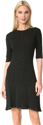 McQ - Alexander McQueen Crochet Skater Dress $380 thestylecure.com