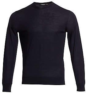 Ermenegildo Zegna Men's Cotton Crewneck Sweater
