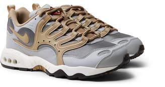 Nike Terra Humara '18 Faux Leather And Mesh Sneakers
