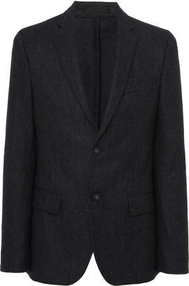 Officine Generale Pinstripe Notch Lapel Sport Jacket