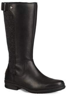 UGG Janina Mid-Calf Dyed Fur Boots