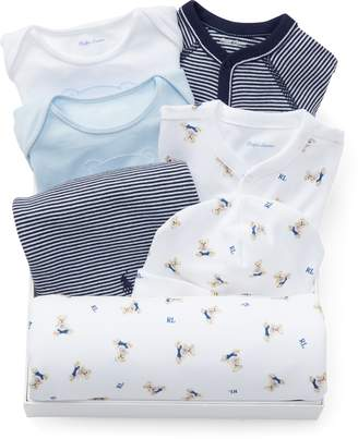 Ralph Lauren Cotton 7-Piece Gift Set