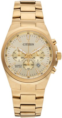 Citizen Men's Stainless Steel Chronograph Watch - AN8172-53P