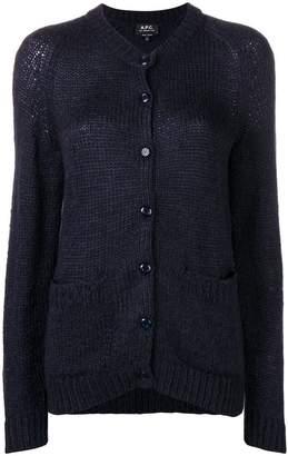 A.P.C. button knit cardigan