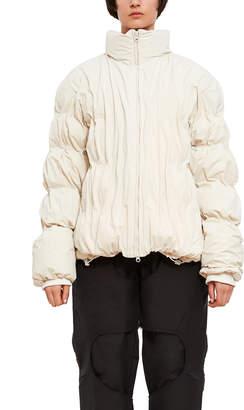Paf Waterproof Ruched Down Jacket