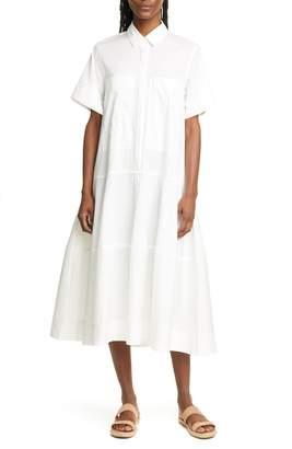 Lee Mathews Elsie Poplin Midi Shirtdress