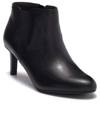 Clarks Dancer Sky Leather Ankle Bootie