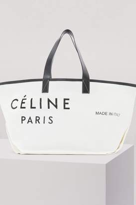 Celine Medium Made in Tote in textile