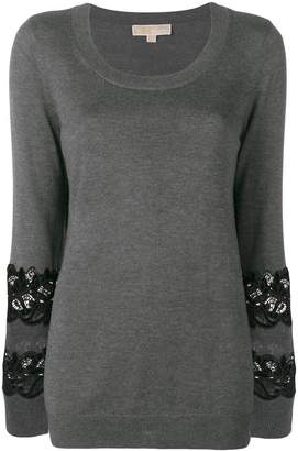 MICHAEL Michael Kors embroidered detailed jumper