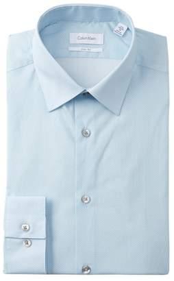 Calvin Klein Diamond Slim Fit Dress Shirt