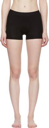 Acne Studios Black Hedda Cotton Boy Shorts