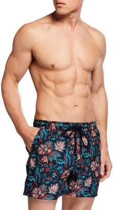 18901ebfd6f02 Etro Blue Men's Swimsuits - ShopStyle