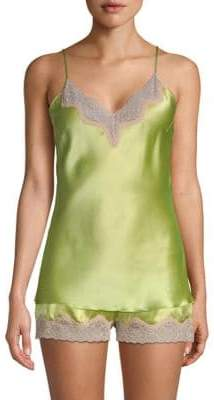 Samantha Chang Classic Silk Camisole