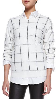 Theory Dreamrly Merino Crewneck Sweater