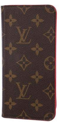 Louis Vuitton Monogram iPhone 7 Folio Brown Monogram iPhone 7 Folio