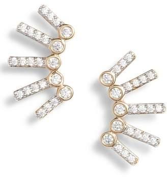 Nadri Cypher Crawler Earrings