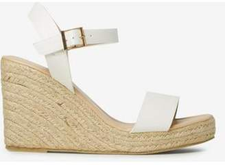 Dorothy Perkins Womens White 'Rizzo' Espadrille Wedges