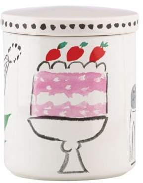 Kate Spade Pretty Pantry Large Canister