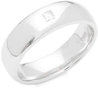 Effy Men's Gento 14K White Gold & Diamond Ring