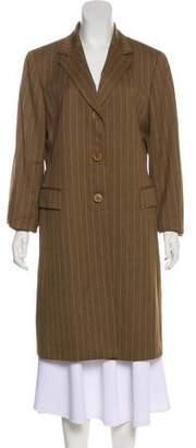 Lafayette 148 Wool Long Coat