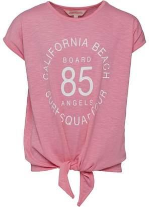 Board Angels Girls Tie Top Pink