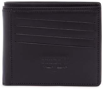 Maison Margiela (メゾン マルジェラ) - MAISON MARGIELA ロゴエンボス レザー二つ折り財布