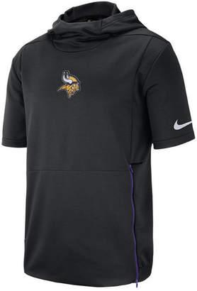 Nike Men's Minnesota Vikings Therma Top Short Sleeve Jacket