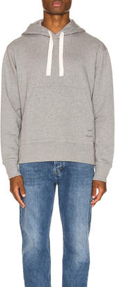 Acne Studios Fellis Logo Sweatshirt in Light Grey Melange | FWRD