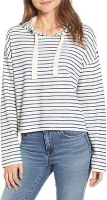 BP Stripe Hooded Pullover