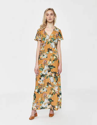 Farrow Oriane Long Floral Dress