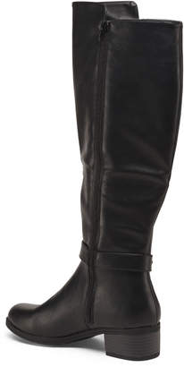 Nautica Knee High Riding Boots